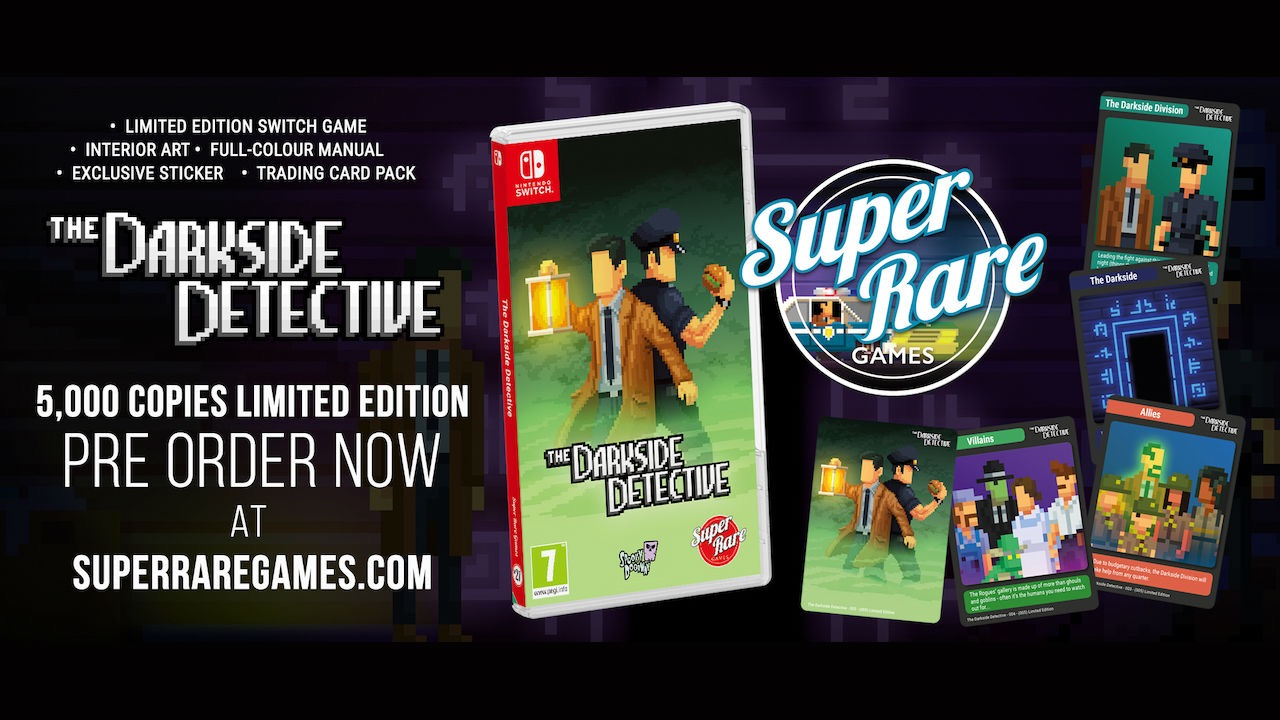 The Darkside Detective Switch Physical Release Photo