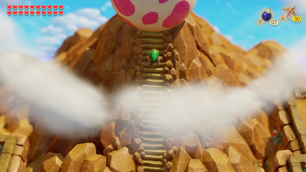 The Legend of Zelda: Link's Awakening Wind Fish Egg Screenshot