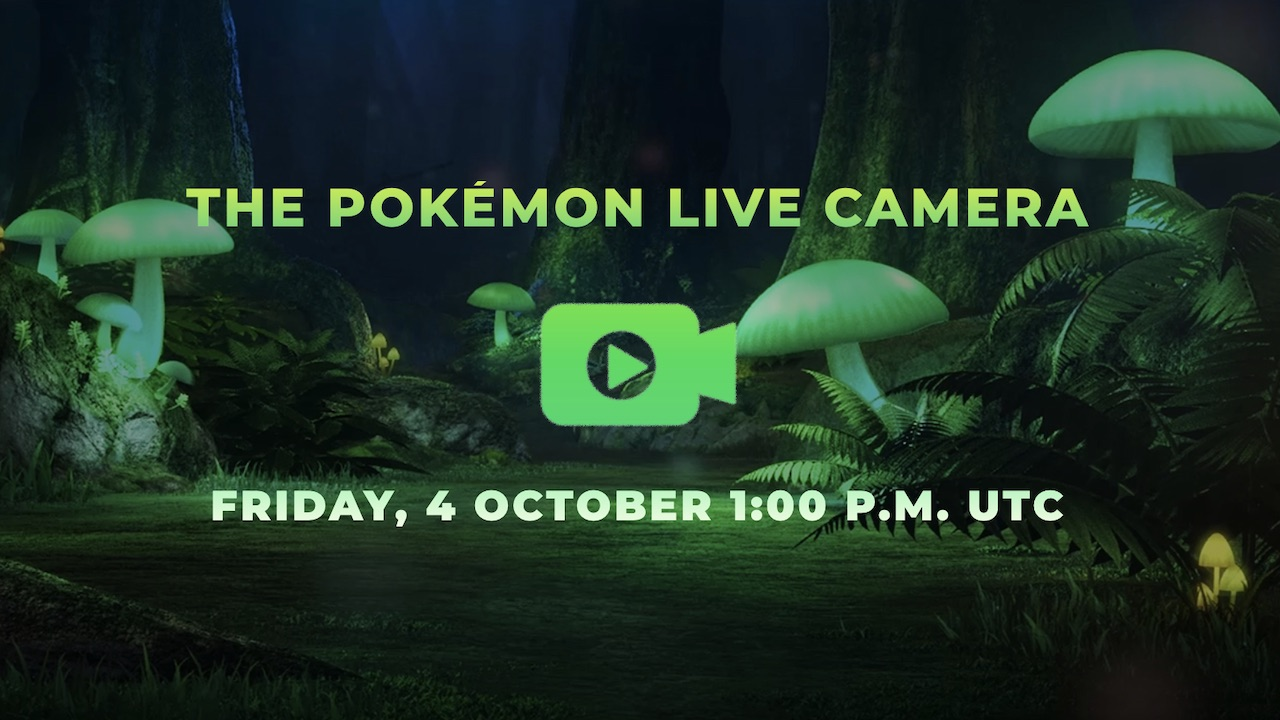 The Pokémon Live Camera Screenshot