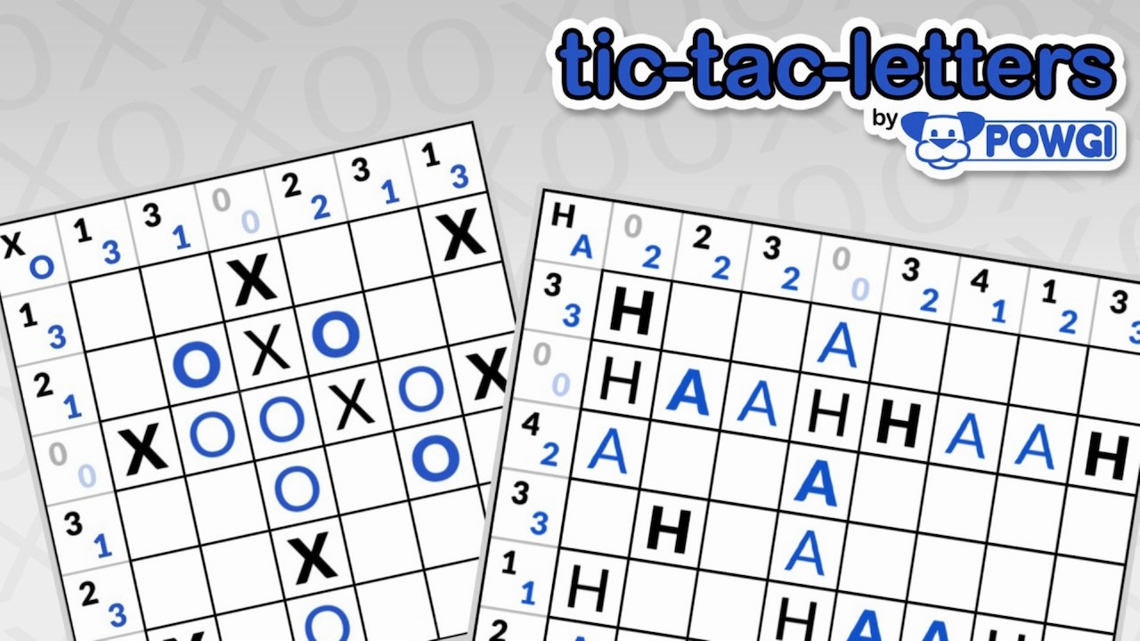 Tic-Tac-Letters By POWGI Logo