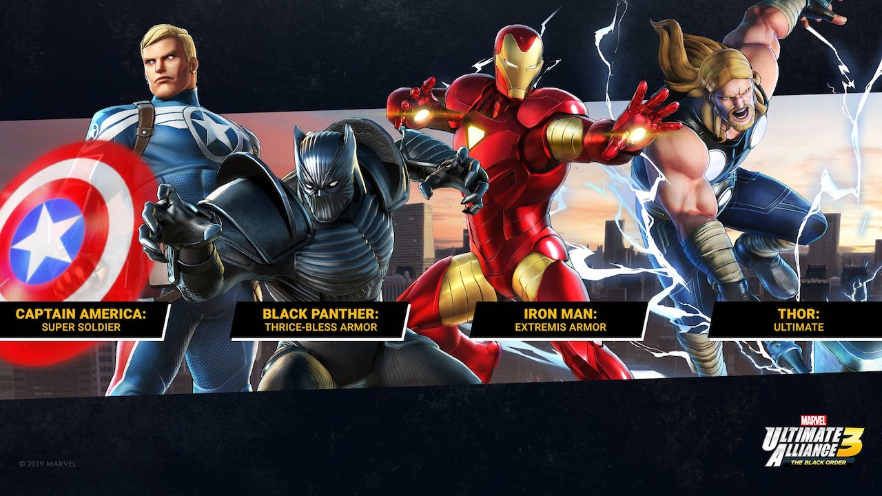 Free Marvel Ultimate Alliance 3 Costumes Screenshot 2