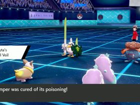 Galarian Ponyta Pastel Veil Pokémon Sword And Shield Screenshot