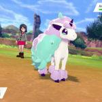 Galarian Ponyta Pokémon Sword And Shield Screenshot