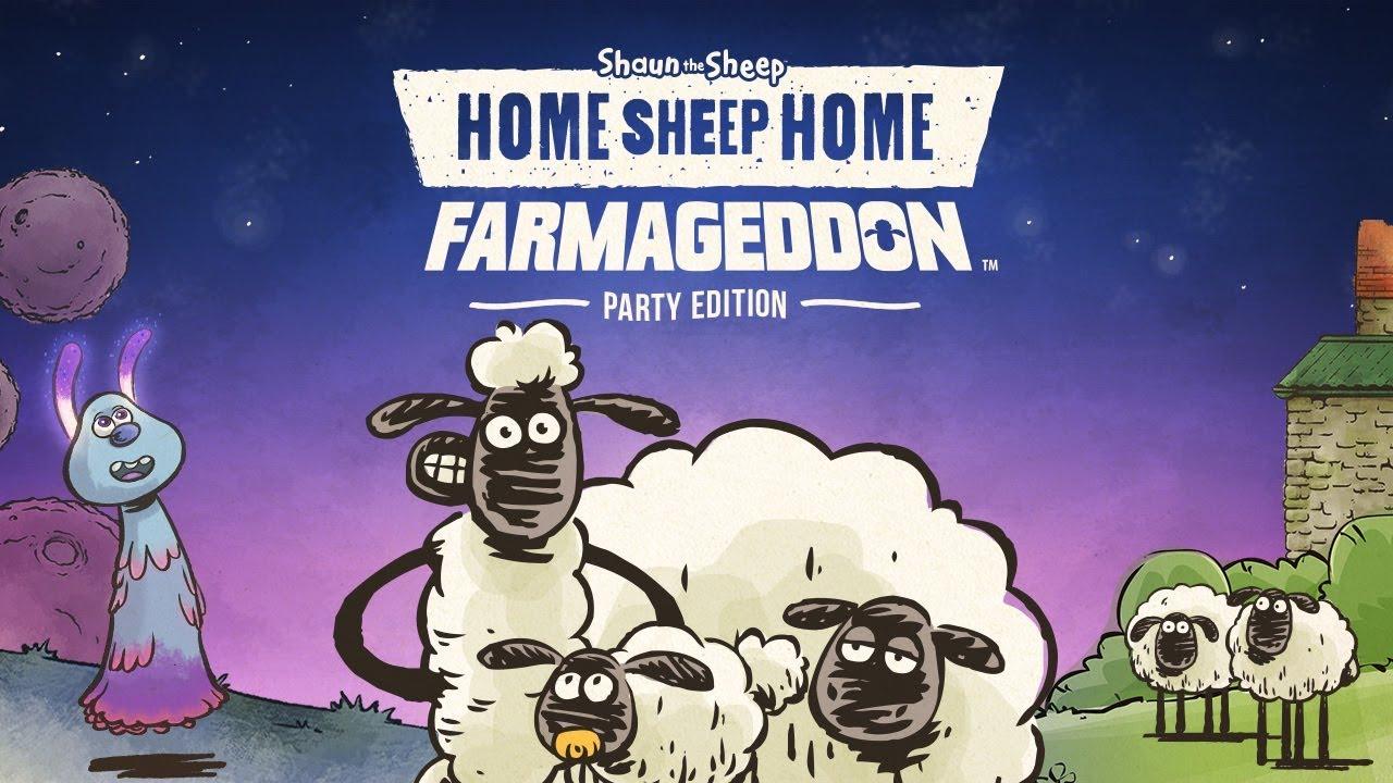Home Sheep Home Farmageddon Party Edition Logo