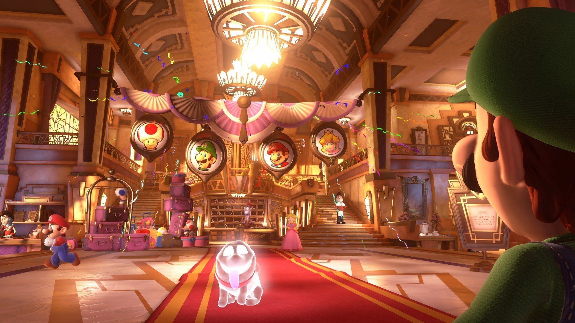 Luigi's Mansion 3 Review Screenshot 1