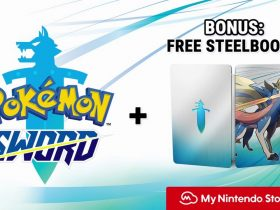 Pokémon Sword Digital Pre-Order Bonus SteelBook Case Screenshot