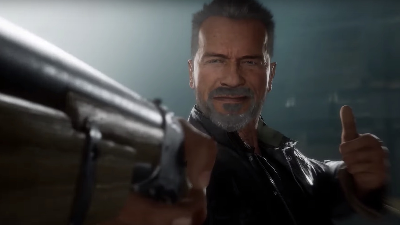 Terminator T-800 Mortal Kombat 11 Screenshot