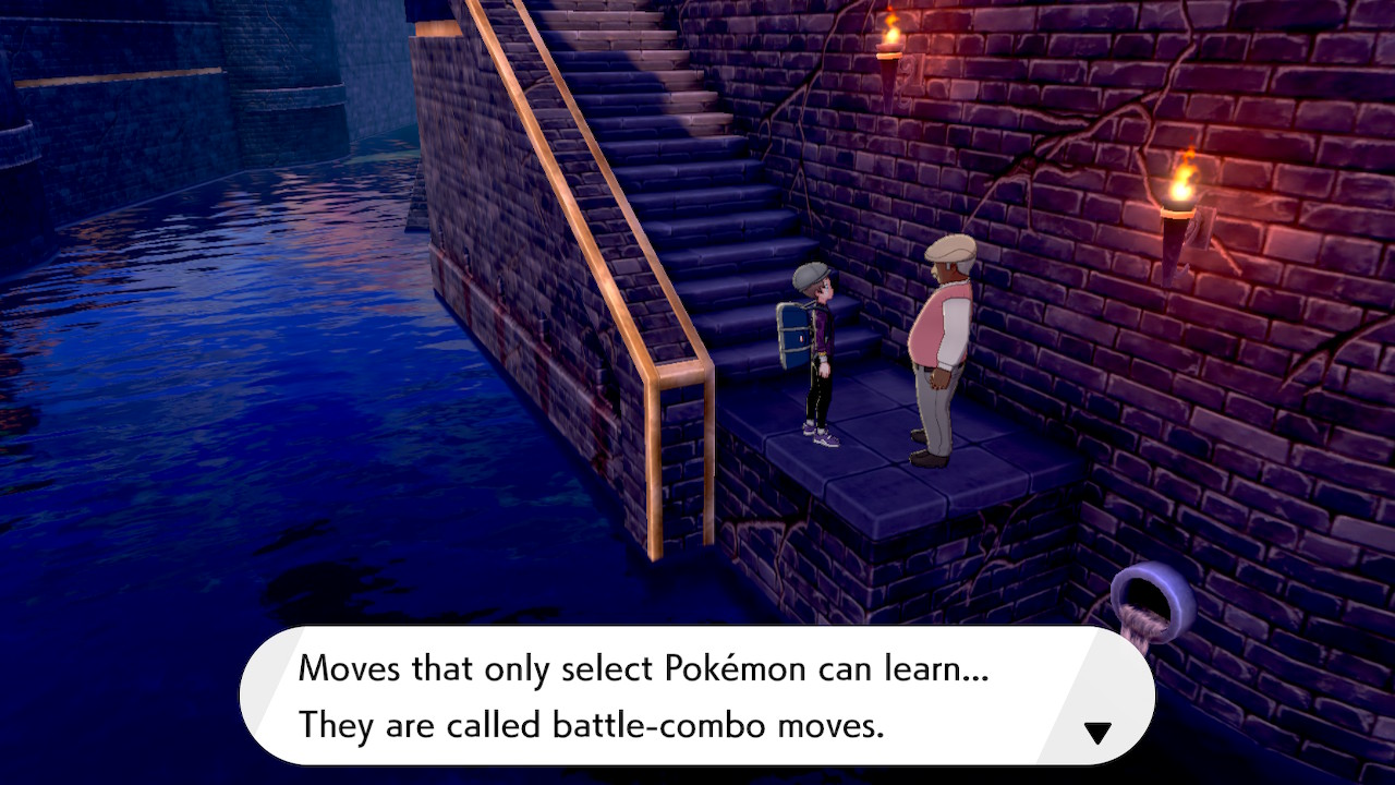 Pokémon Sword And Shield Move Tutor Screenshot