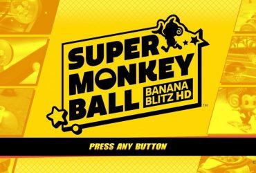 Super Monkey Ball: Banana Blitz HD Review Header