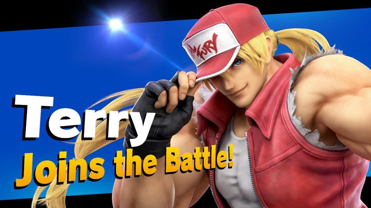 Terry Bogard Super Smash Bros. Ultimate Screenshot