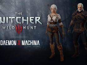Daemon X Machina The Witcher 3 Collaboration Set Screenshot