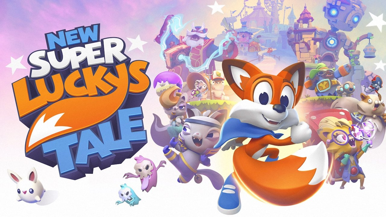 New Super Lucky's Tale Review Header