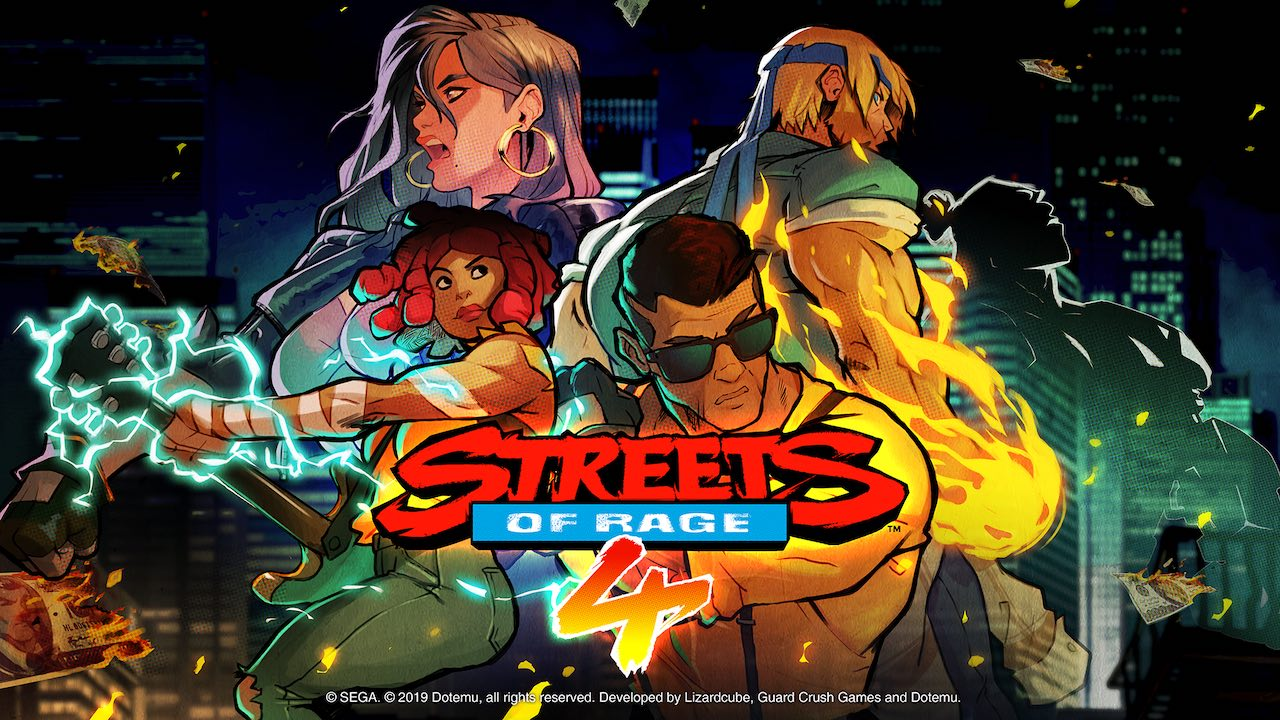 Streets of Rage 4 Logo