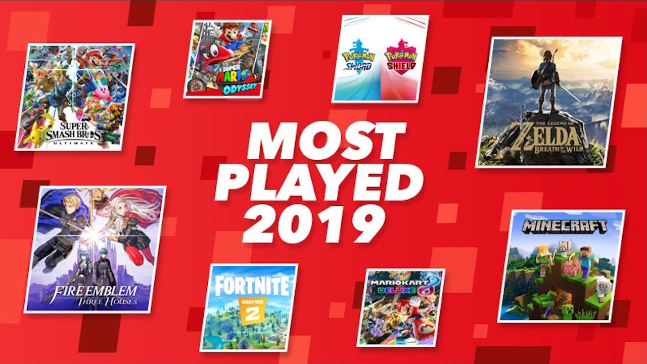 Most-Played Nintendo Switch Game 2019 Image