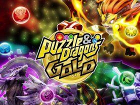 Puzzle & Dragons GOLD Logo