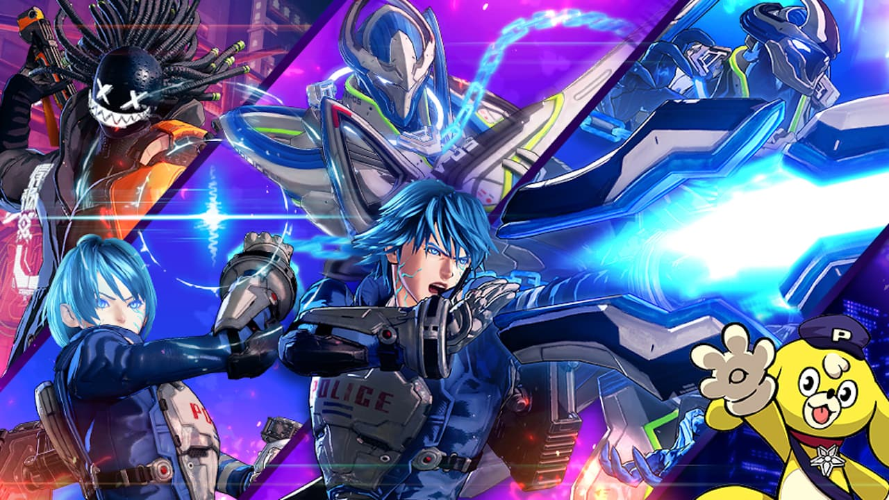 Super Smash Bros. Ultimate Astral Chain Spirits Image