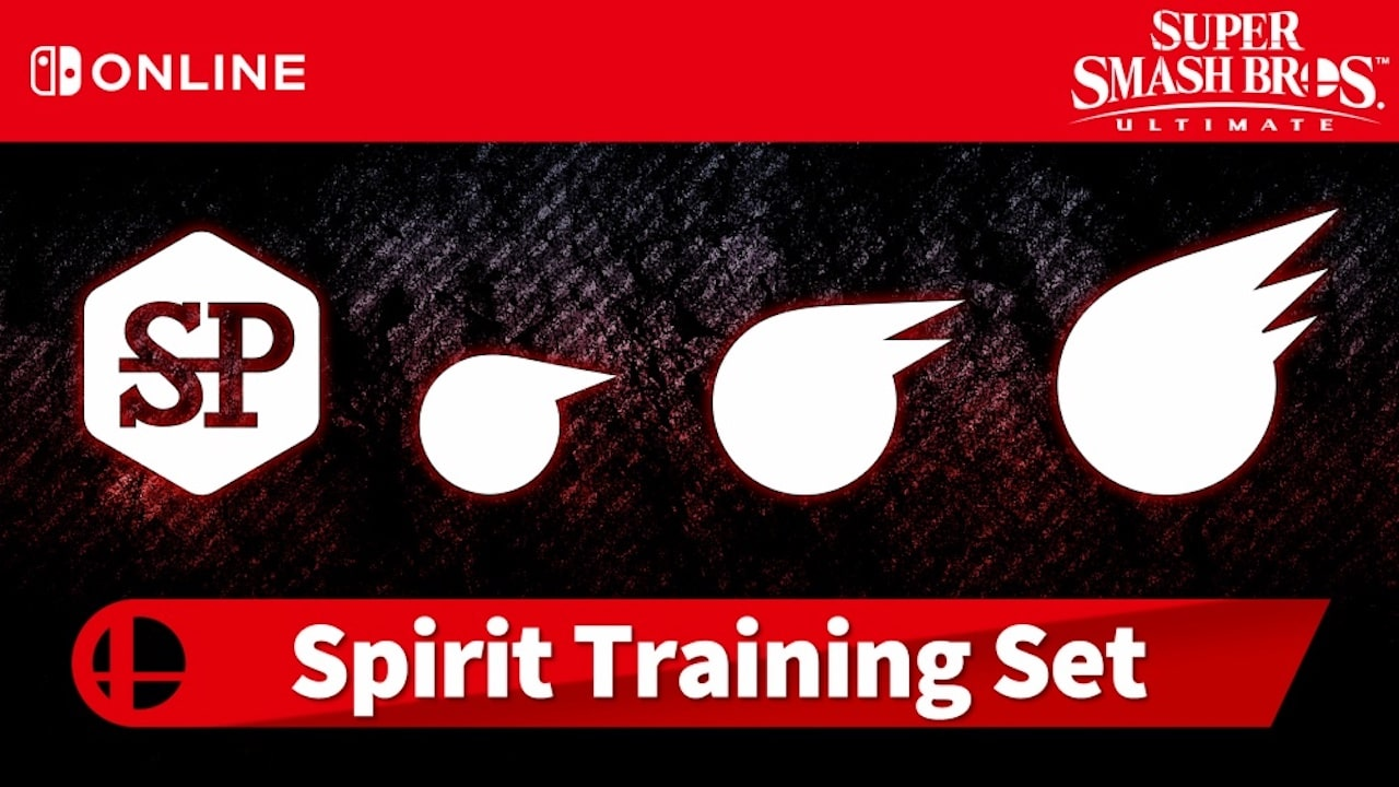 Super Smash Bros. Ultimate Spirit Training Set Logo