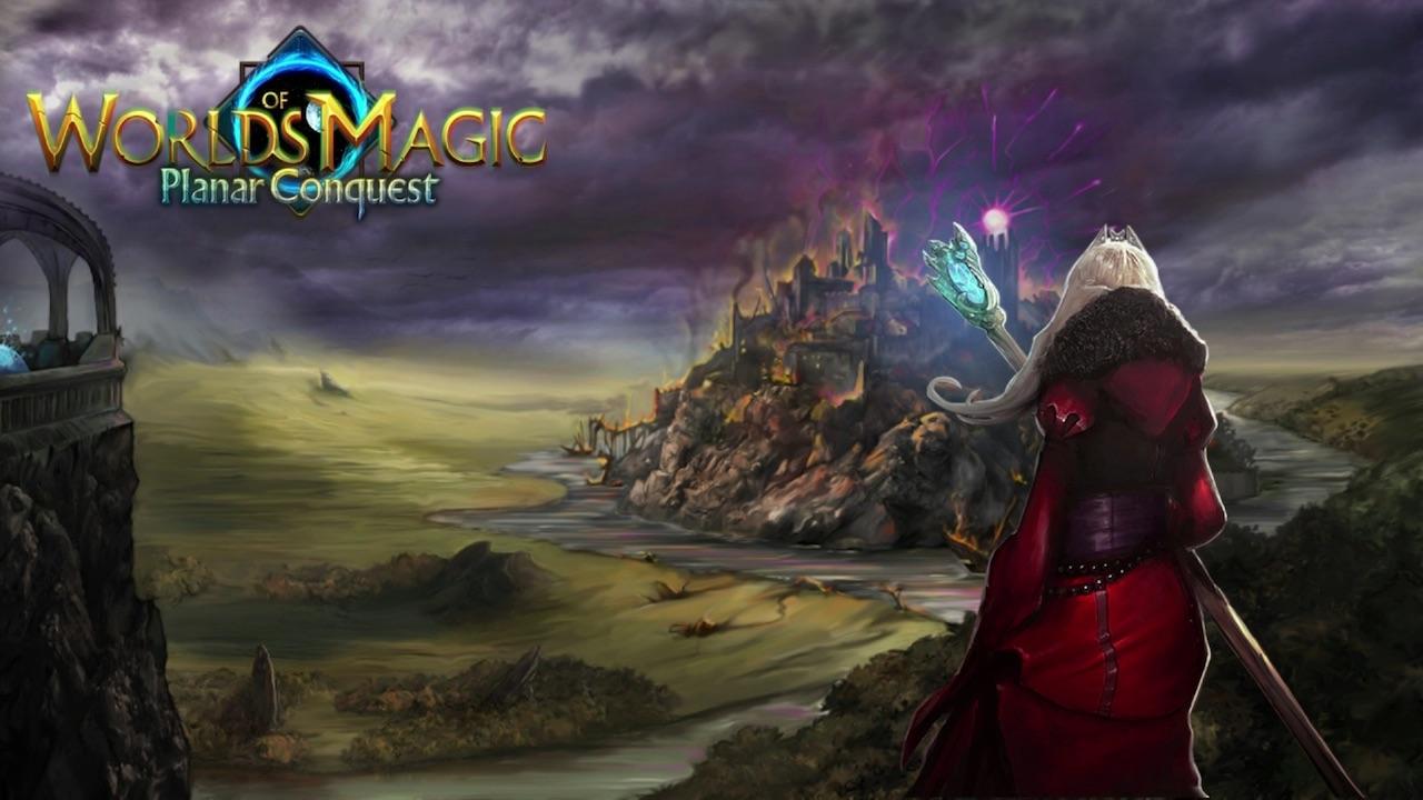 Worlds Of Magic: Planar Conquest Logo