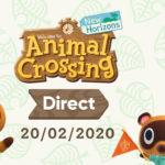 Animal Crossing: New Horizons Direct Logo Image