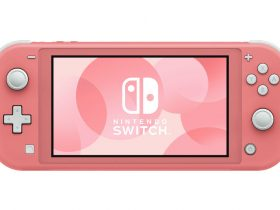 Coral Nintendo Switch Lite Photo