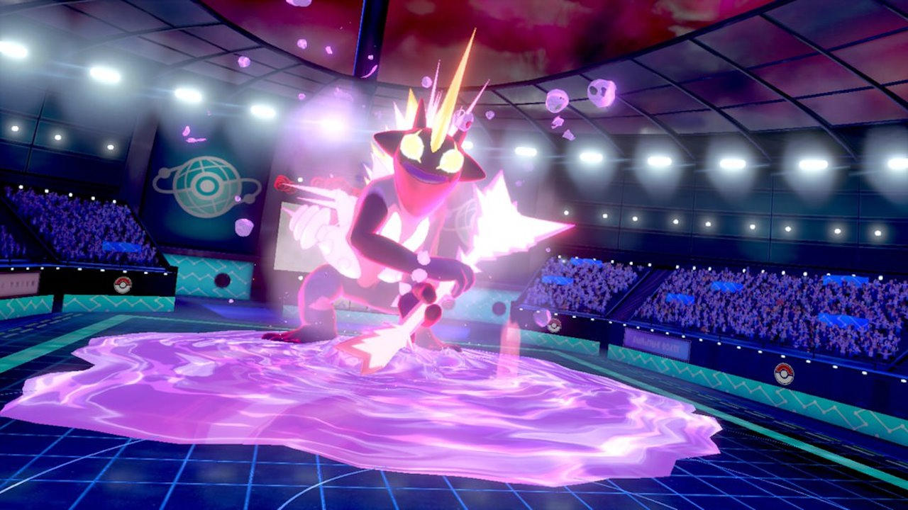 Gigantamax Toxtricity Screenshot