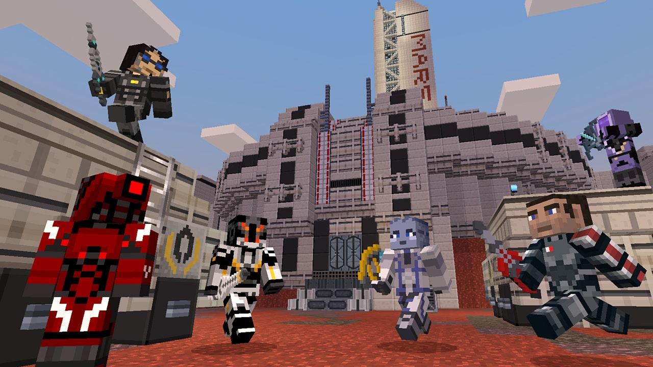 Minecraft Mass Effect Mash-Up Pack Screenshot