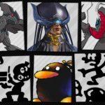 Super Smash Bros. Ultimate Spirits In Black Image