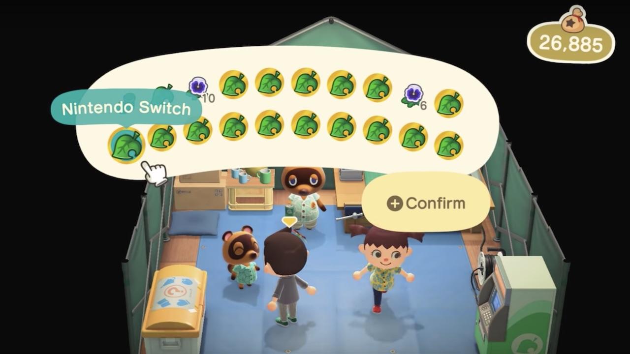 Animal Crossing: New Horizons Exploit Screenshot