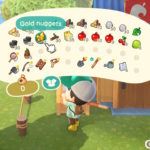 Animal Crossing: New Horizons Golden Tools Screenshot