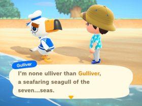 Animal Crossing: New Horizons Gulliver Screenshot