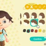 Animal Crossing: New Horizons Hairstyles Screenshot