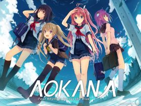 Aokana: Four Rhythms Across The Blue Logo