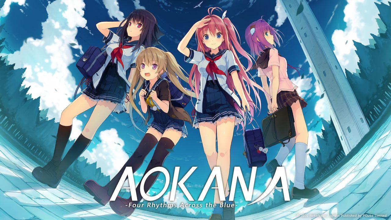 Aokana: Four Rhythms Across The Blue Logo