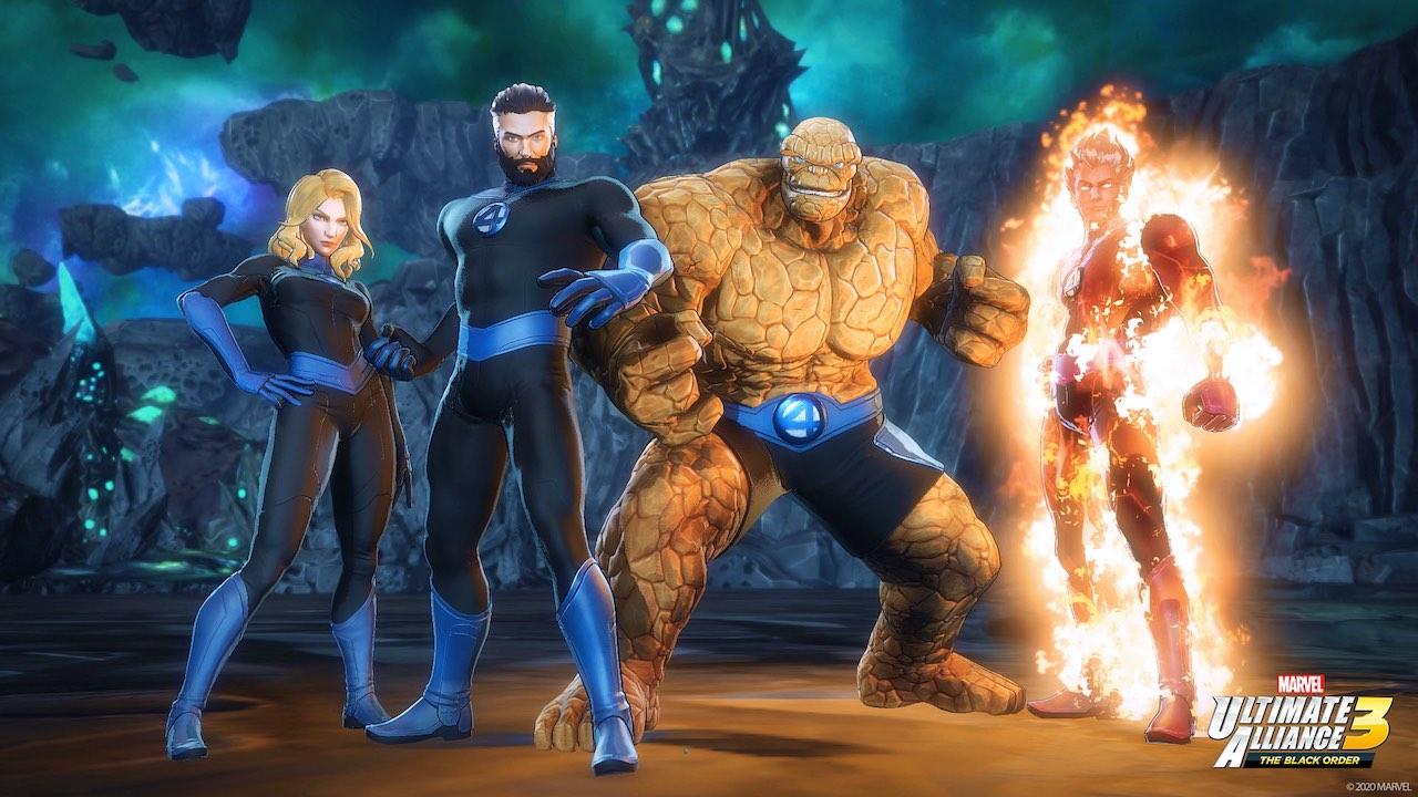Marvel Ultimate Alliance 3 Fantastic Four Screenshot