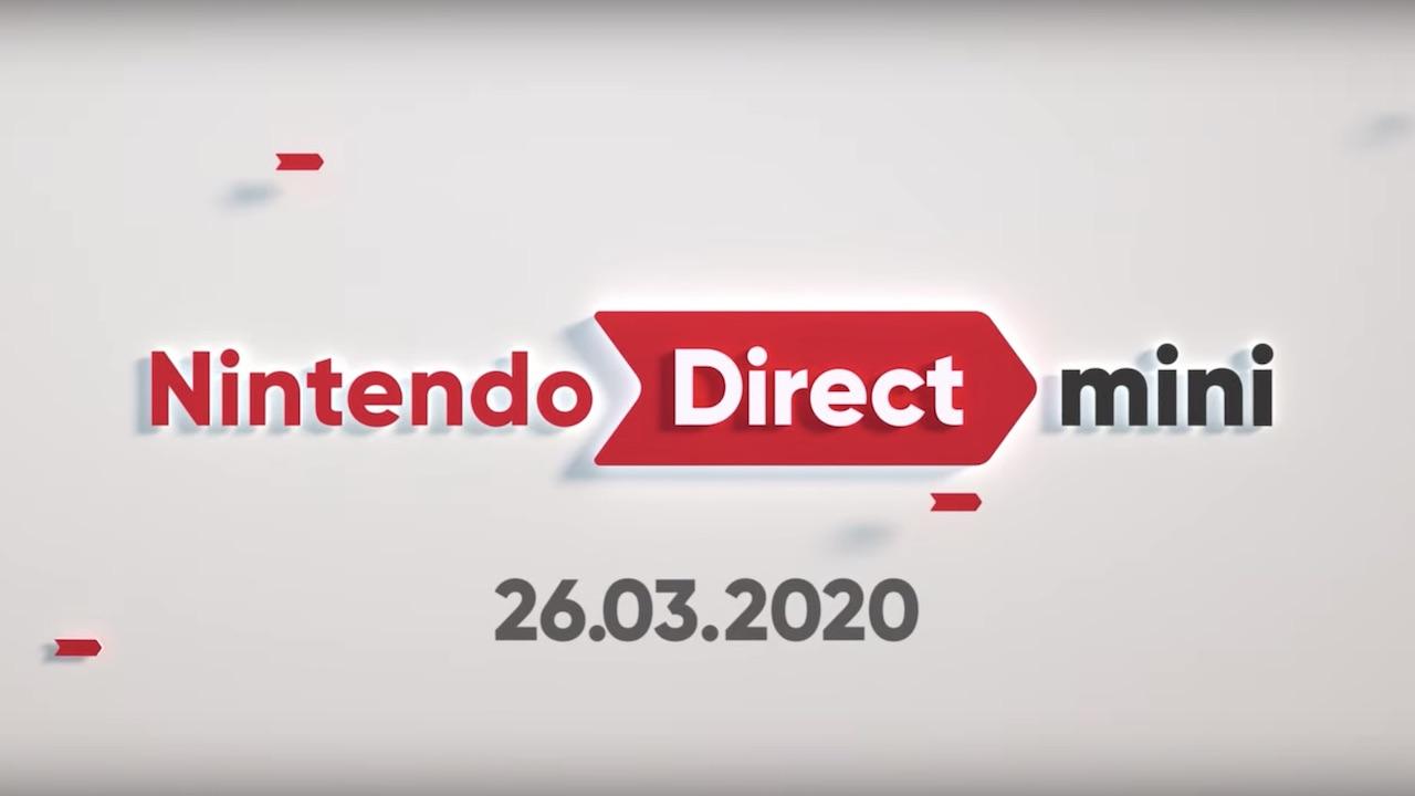 Nintendo Direct Mini March 2020 Logo