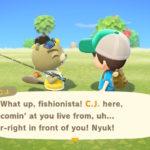 Animal Crossing New Horizons C.J. Screenshot