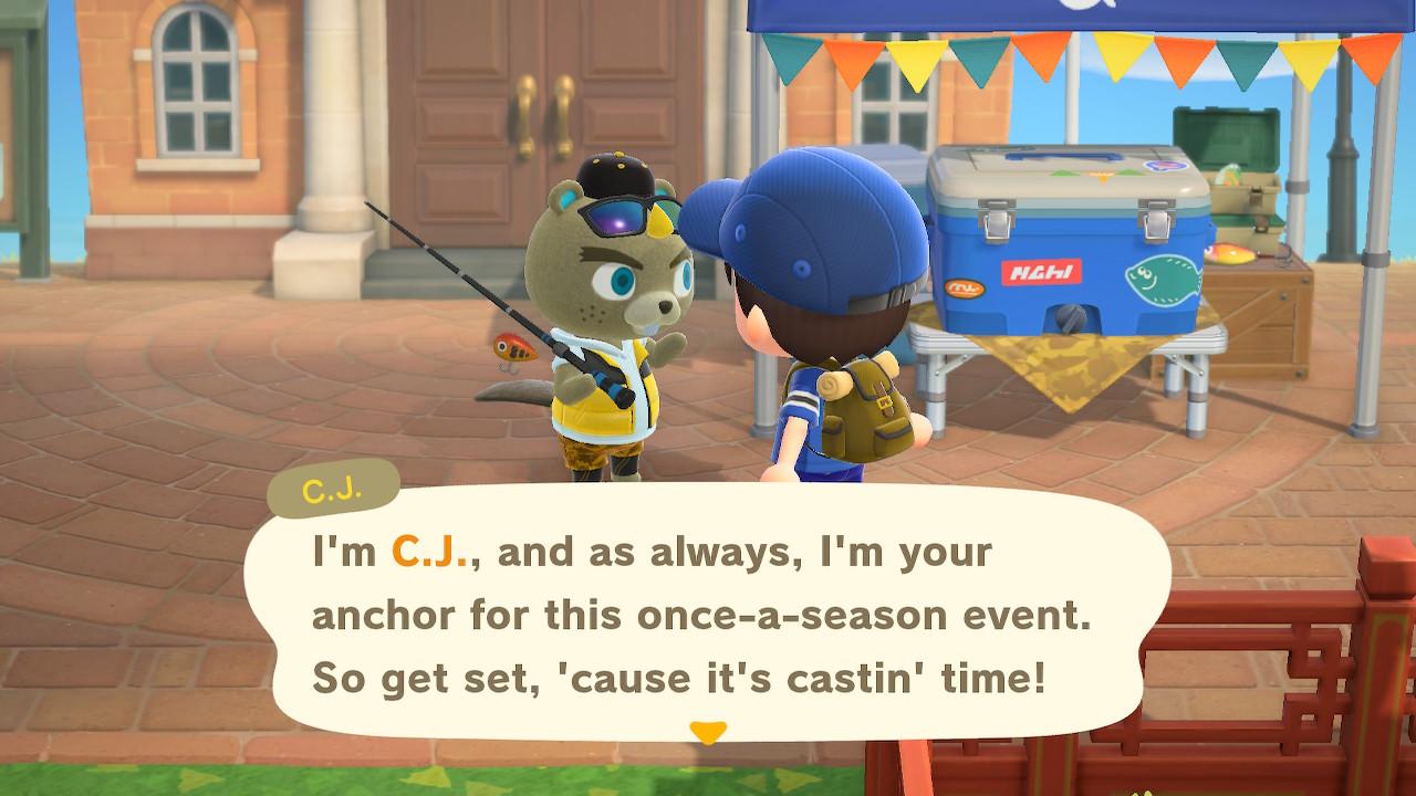 Animal Crossing New Horizons Fishing Tourney Screenshot