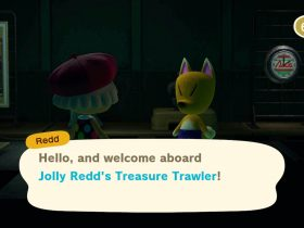 Animal Crossing: New Horizons Jolly Redd's Treasure Trawler Screenshot