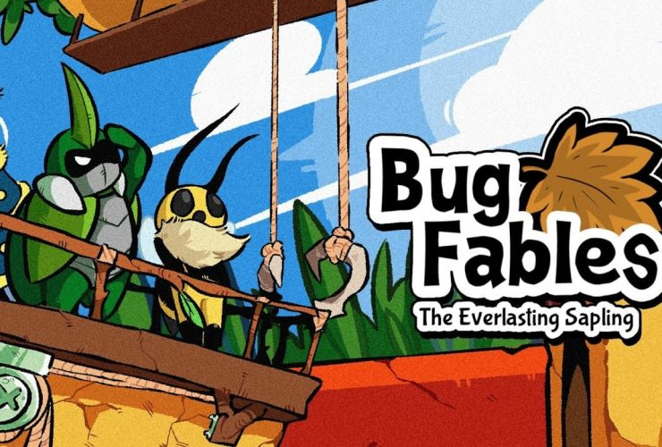 Bug Fables: The Everlasting Sapling Logo