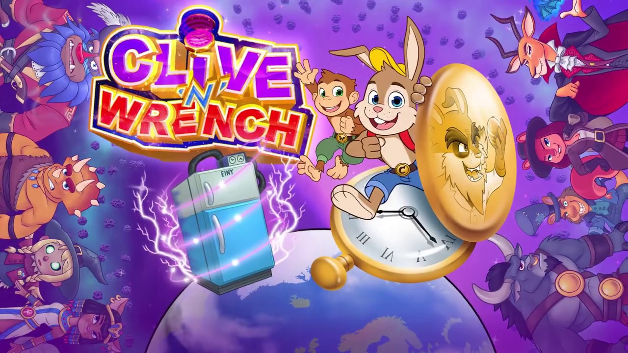 Clive 'N' Wrench Logo