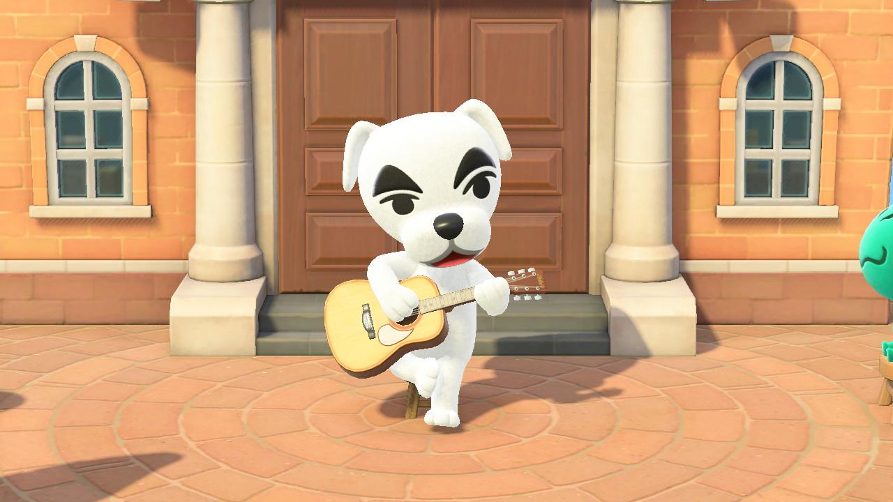 K.K. Slider Animal Crossing New Horizons Screenshot