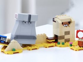 LEGO Super Mario Monty Mole and Super Mushroom Expansion Set Photo