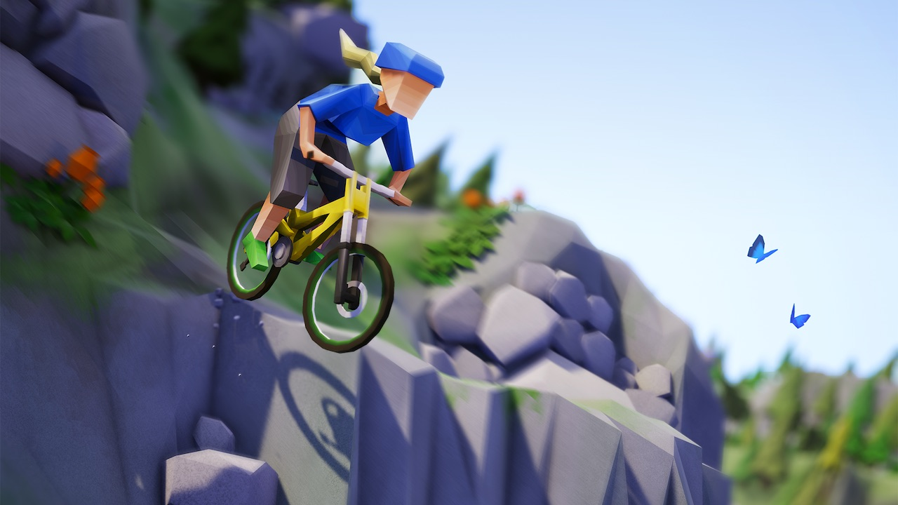Lonely Mountains: Downhill Key Art