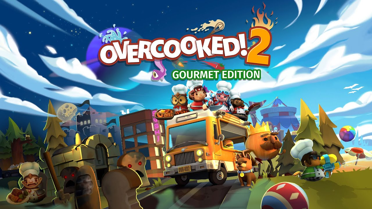 Overcooked! 2: Gourmet Edition Logo