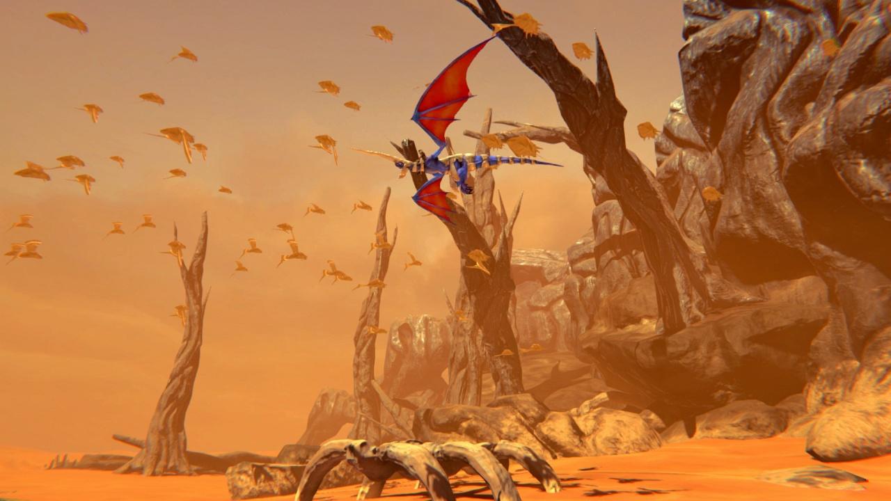 Panzer Dragoon: Remake Screenshot