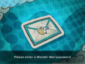 Pokémon Mystery Dungeon DX Wonder Mail Password Screenshot