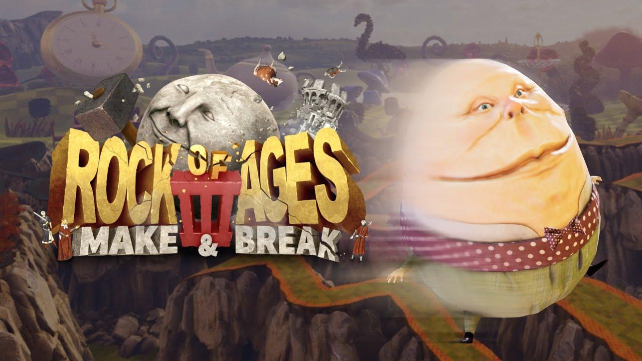 Rock Of Ages 3: Make And Break Humpty Dumpty Screenshot