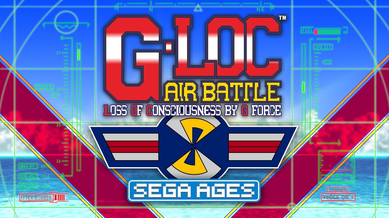 SEGA AGES G-LOC Air Battle Logo