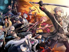 Trails Of Cold Steel IV Key Art