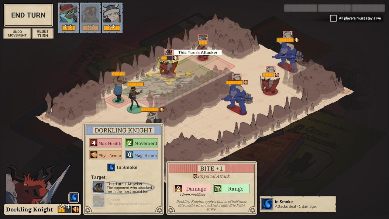 Wintermoor Tactics Club Screenshot